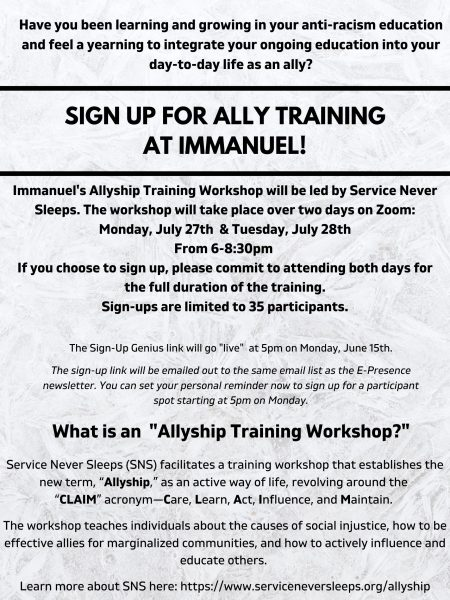 Allyship Training