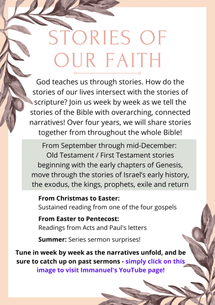 Copy of Stories of our faith